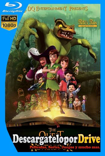 Peter Pan: La búsqueda del libro de Nunca Jamás (2018) [1080p] [Latino] [1 Link] [GDrive] [MEGA]