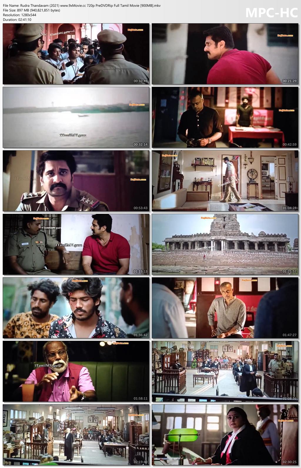 Rudra-Thandavam-2021-www-9x-Movie-cc-720p-Pre-DVDRip-Full-Tamil-Movie-900-MB-mkv