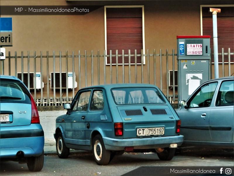 avvistamenti auto storiche - Pagina 11 Fiat-126-650-23cv-87-CT755197