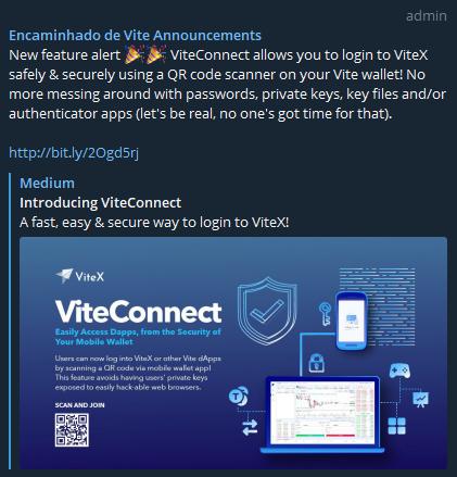 OPORTUNIDADE [Provado] Vite Wallet - Airdrop   Tokens Gratis   Android/iOS - (Actualizado em Dezembro de 2019) Vittx