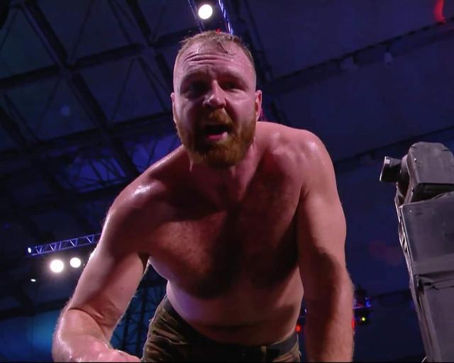 Jon Moxley amenaza a Kenny Omega AEW 20 Enero