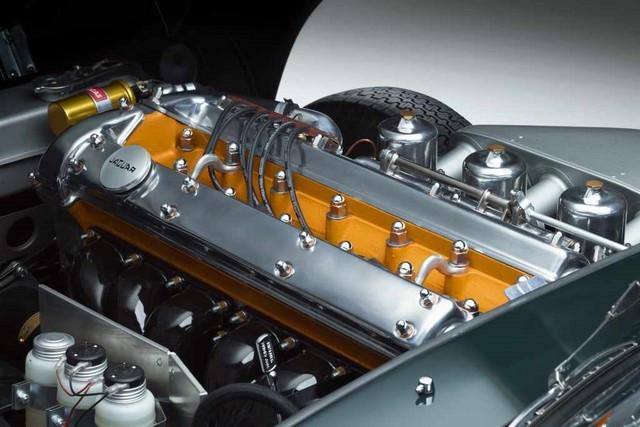"""Jaguar Classic Dévoile La Type """"60 Collection"""" : Homage Au 60e Anniversaire De La Sportive Légendaire 11-E-TYPE-OTS-engine-02"""