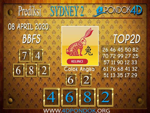 Prediksi Togel SYDNEY 2 PONDOK4D 08 APRIL 2020