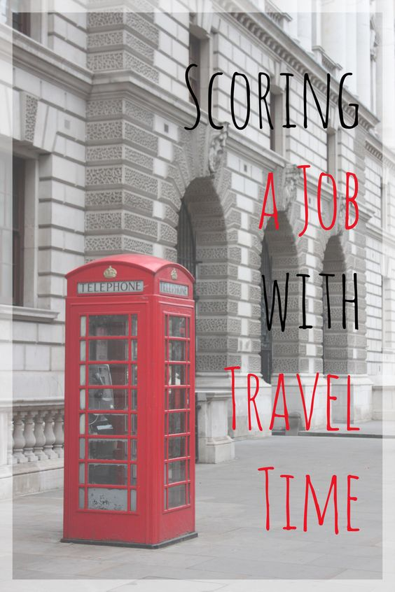 Scoring a Job with Travel Time