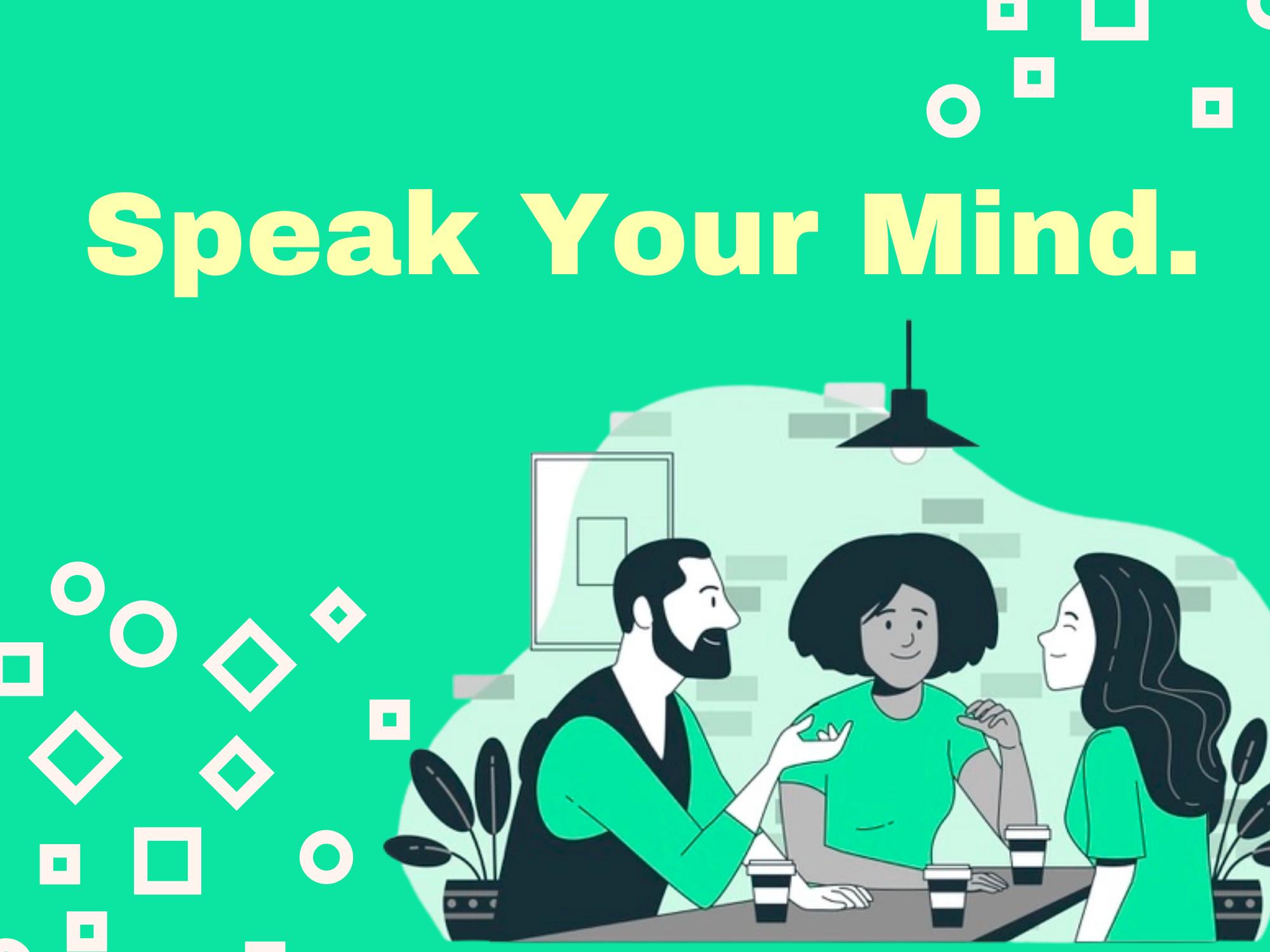 Speak-Your-Mind