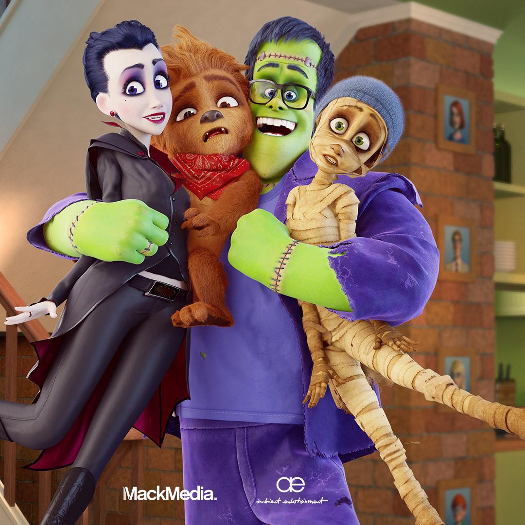 Une Famille monstre (Studio 16) · Toussaint 2019 HF-Wallpaper-1920x1080-Family-Hug