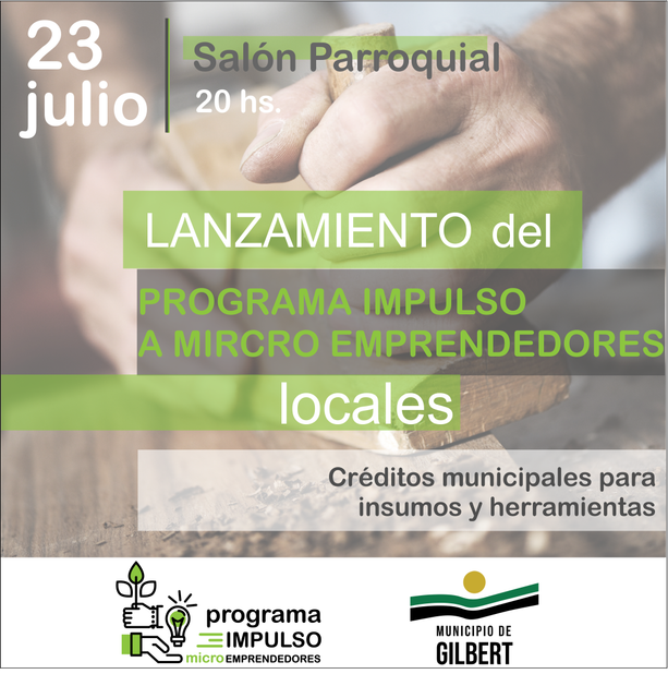 Gilbert: Programa Impulso a Micro Emprendedores