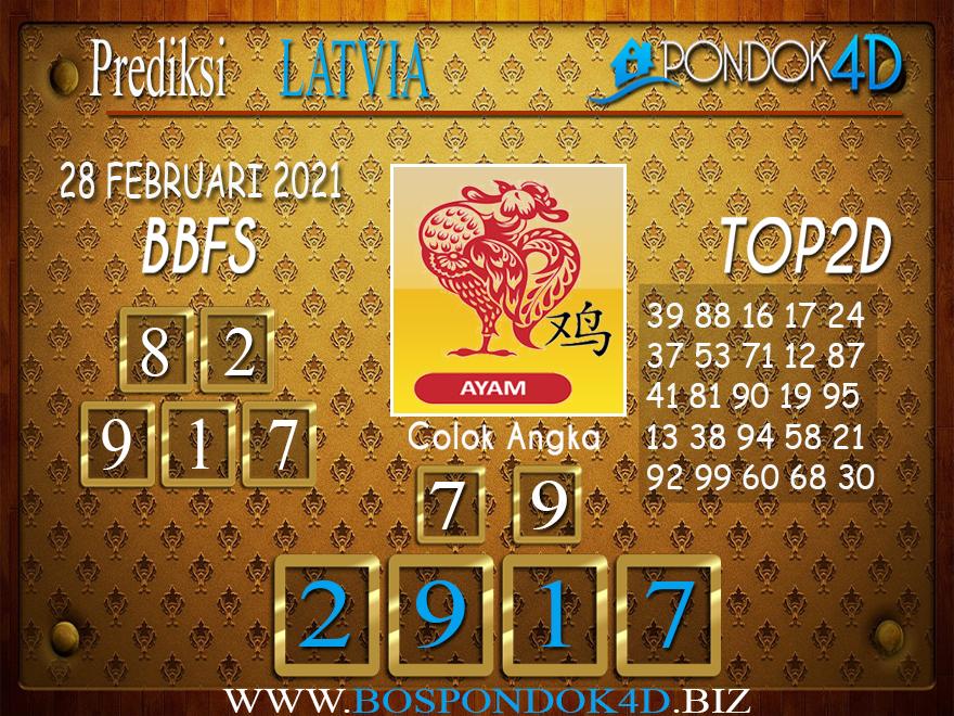 Prediksi Togel LATVIA PONDOK4D 28 FEBRUARI 2021