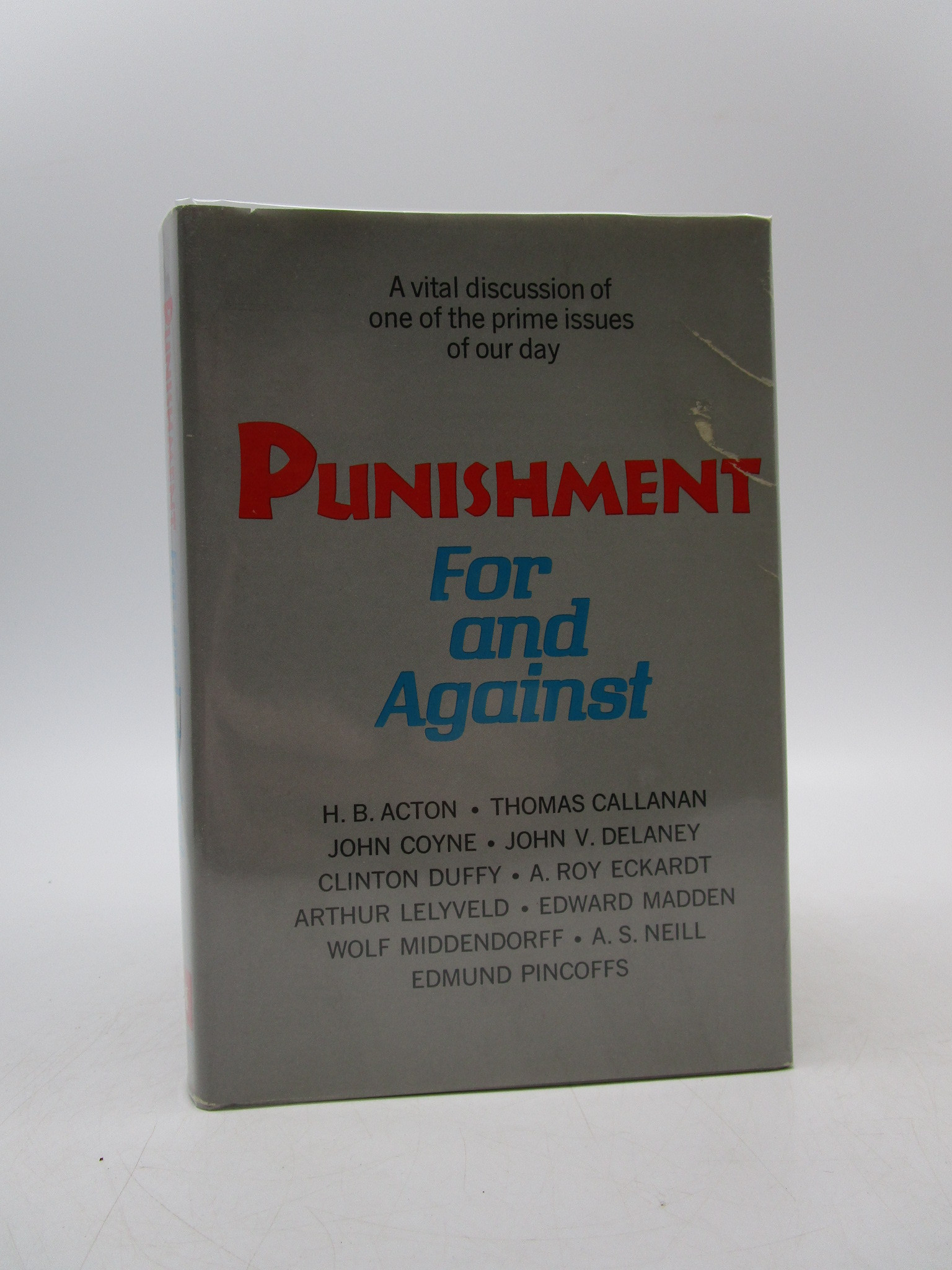 Image for Punishment For and Against