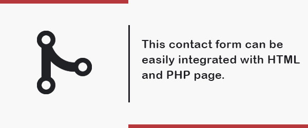 perfect contact us form page integrate