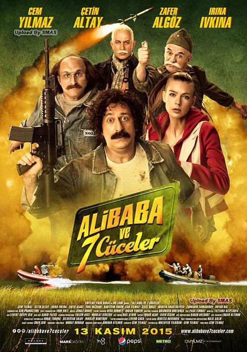Ali Baba ve 7 Cüceler | 2015 | Yerli Film | NF | WEB-DL | XviD | Sansürsüz | 1080p - m720p - m1080p | WEB-DL | Tek Link