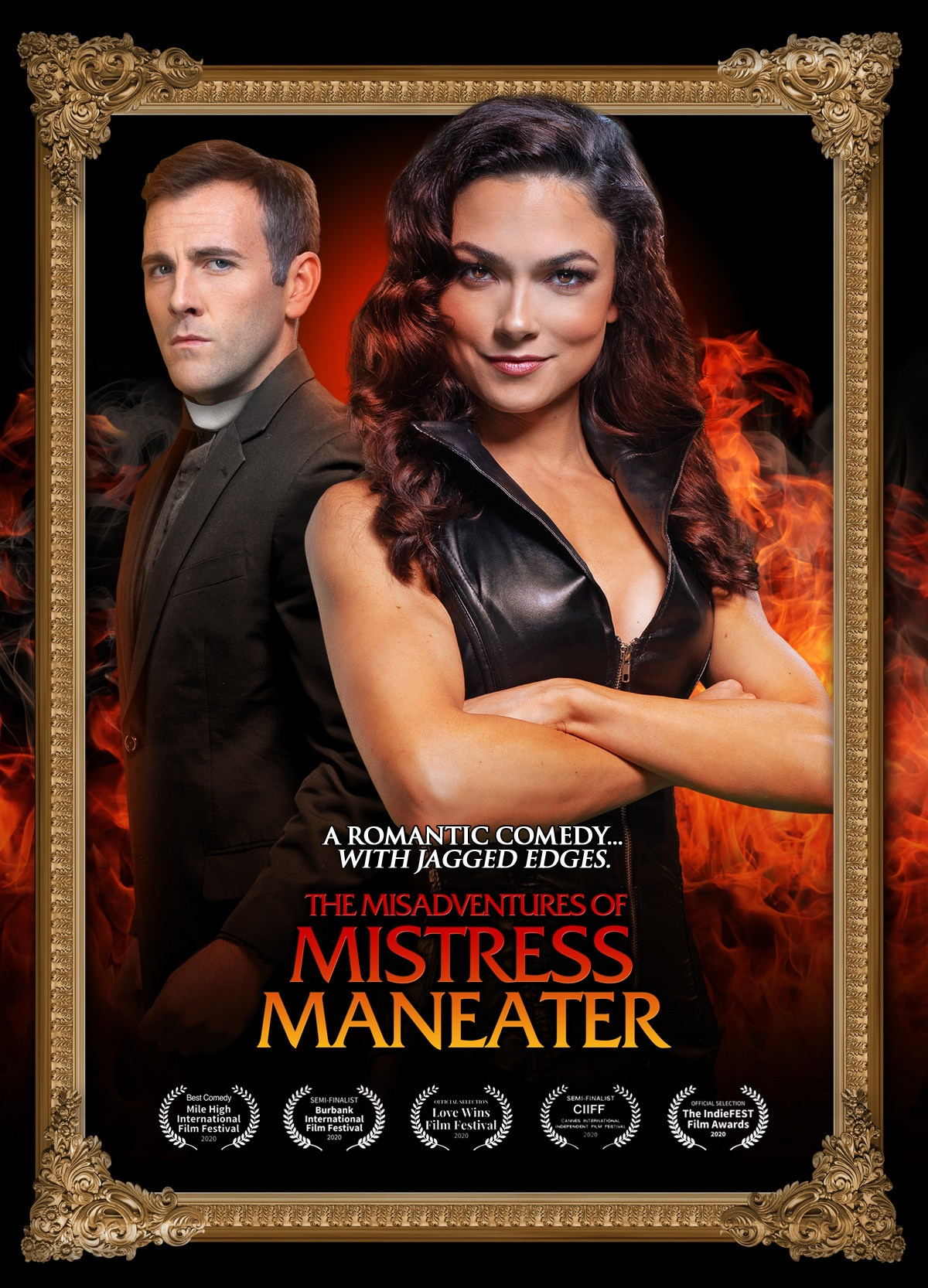 The Misadventures Of Mistress Maneater 2020 English AMZN WEBRip 720p 800MB | 450MB Download