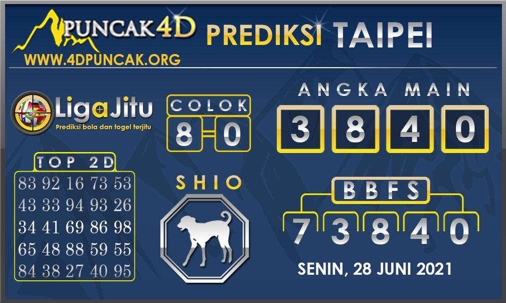 PREDIKSI TOGEL TAIPEI PUNCAK4D 28 JUNI 2021