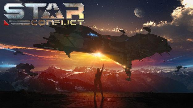 В Star Conflict предлагают испытать мастерство и получить корабль пришельцев