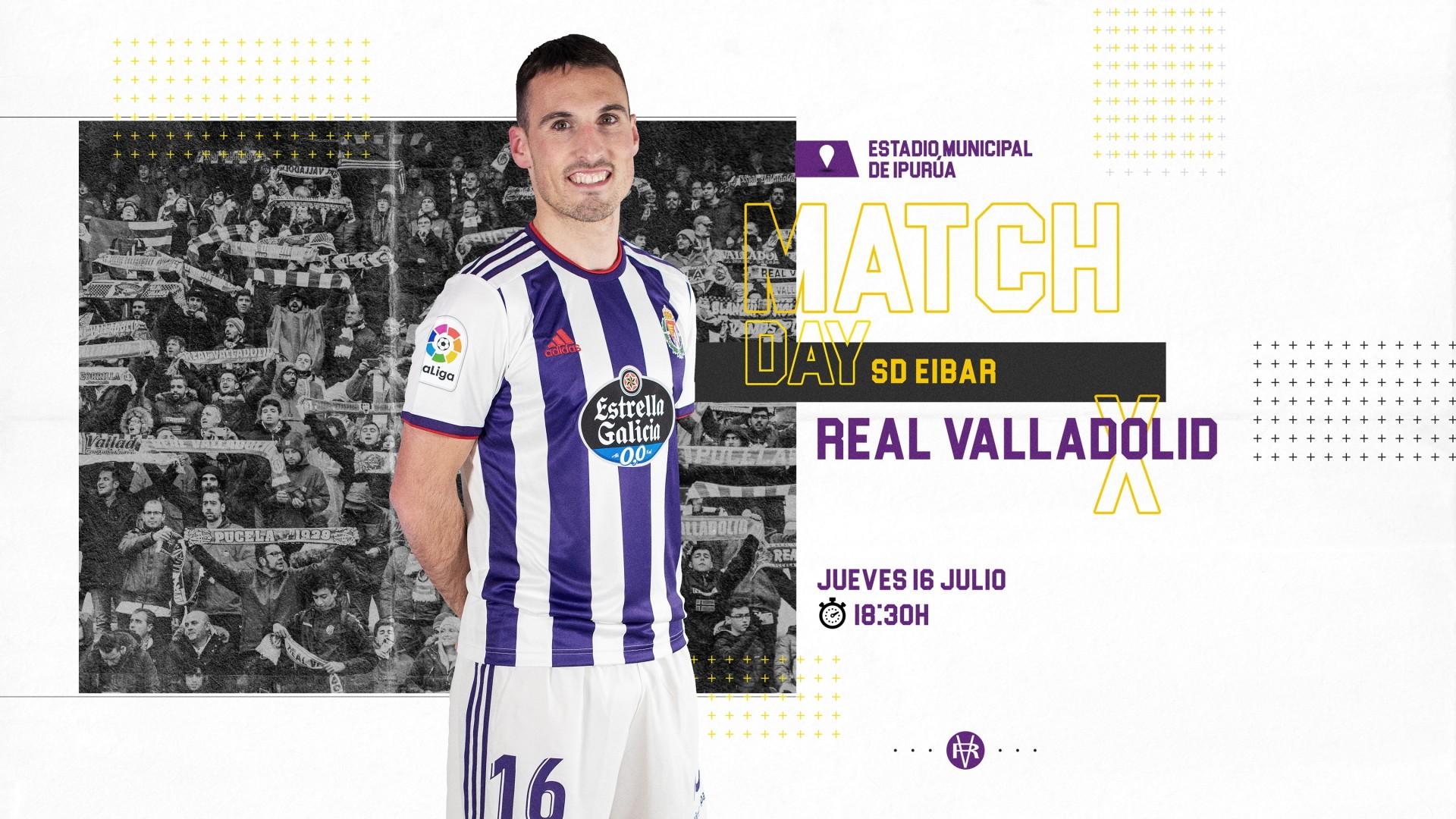 S.D. Eibar - Real Valladolid C.F. Jueves 16 de Junio. 18:30 Match-San-Eme
