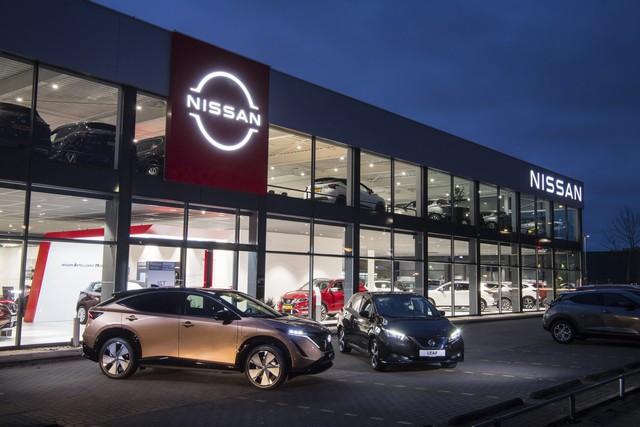 Nissan déploie son nouveau logo dans son réseau de concessionnaires européens DSC0515-source