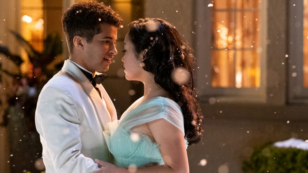 Jordan-Fisher-and-Lana-Condor-as-John-Ambrose-Mc-Claren-and-Lara-Jean-in-To-All-the-Boys-PS-I-Still-Love-You-Netflixx-1024x576