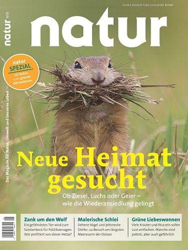 Cover: Natur Das Magazin für Natur Umwelt No 09 September 2021