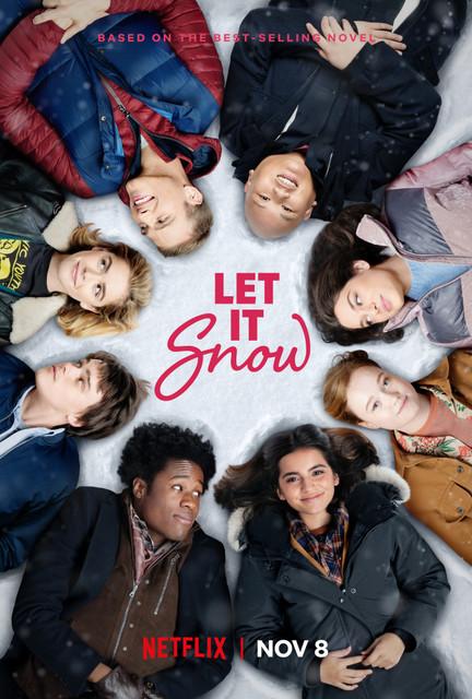 Смотреть Пусть идёт снег / Let It Snow Онлайн бесплатно - Неожиданный снежный буран в канун Рождества застает жителей Грейстауна врасплох: поезда...
