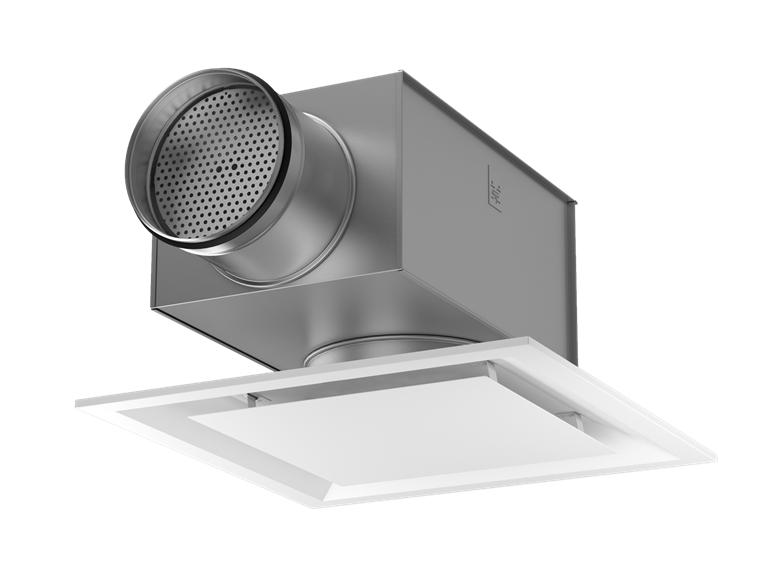 Диффузор потолочный квадратный перфорированный KITE Ceiling