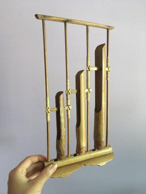 Ангклунг - музыкальный инструмент из Индонезии