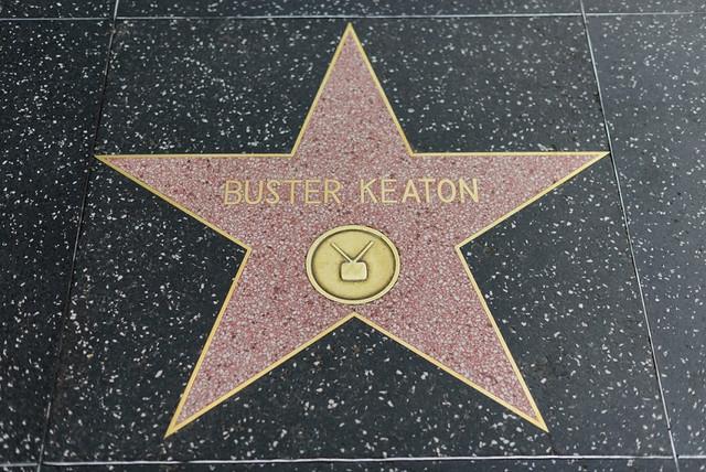 Buster Keaton Hollywood star