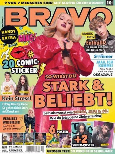 Cover: Bravo Jugendmagazin No 10 vom 18  August 2021