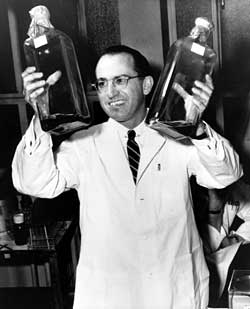 Why Jonas Salk didn't patent polio