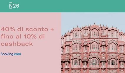 N26 10% Cashback di STATO + 5,00€+ addio spese su acquisti all'estero + Scegli PIN Carta! [Senza scadenza] - Pagina 2 N26-booking