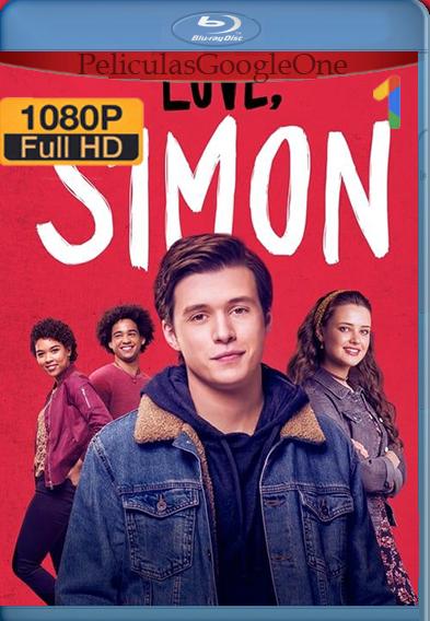 Yo Soy Simón (Love, Simon) (2018) [1080p HD BRrip] [Latino-Inglés] [GoogleDrive] – Wolf Levine