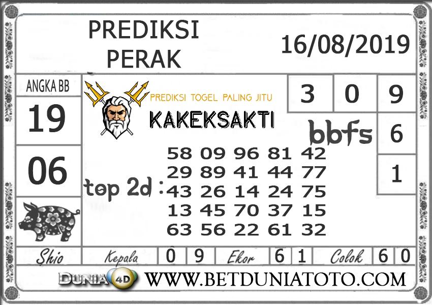 """Prediksi Togel """"PERAK"""" DUNIA4D 16 AGUSTUS 2019"""