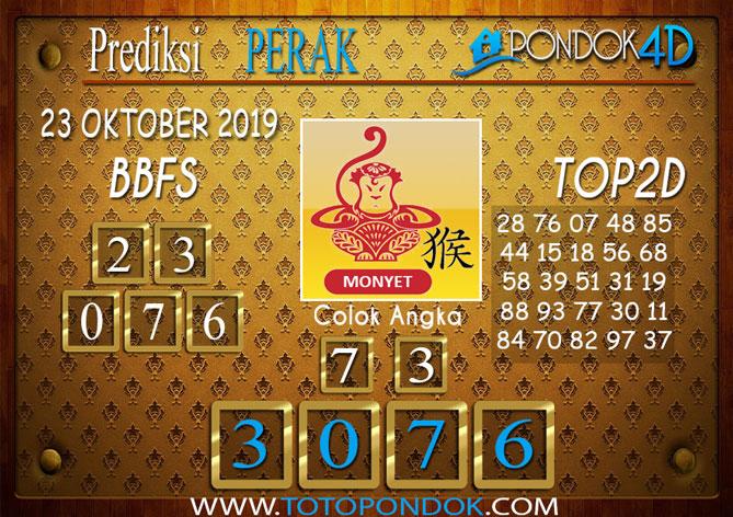 Prediksi Togel PERAK PONDOK4D 23 OKTOBER 2019