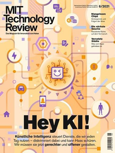 Cover: Technology Review Magazin für Innovation No 06 2021