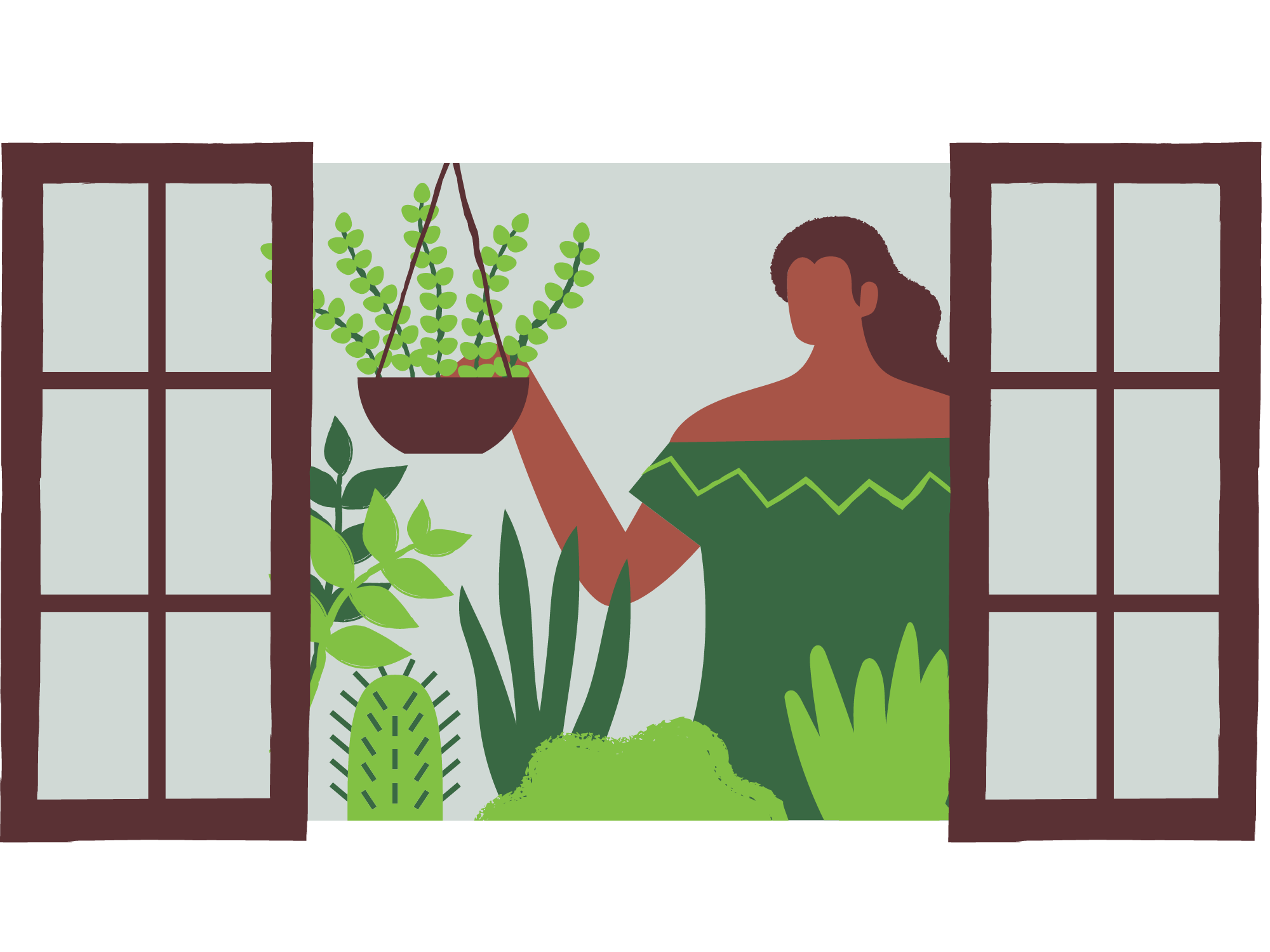 A-woman-putting-indoor-plants-inside-her-house