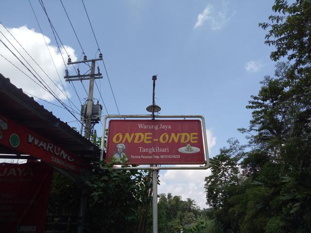 Onde Onde Warung Jaya