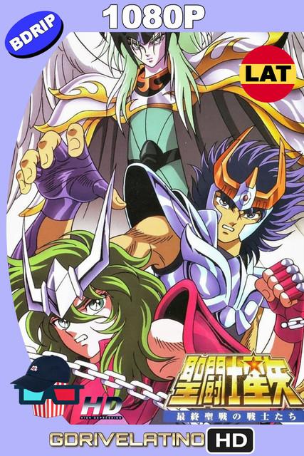 Saint Seiya: Los Caballeros del Zodiaco contra Lucifer (1989) BDrip 1080p Latino-Japonés MKV