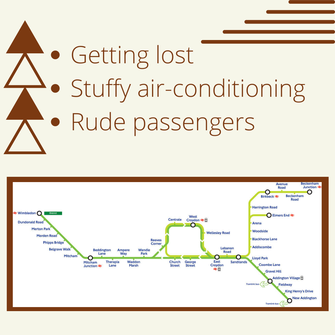 Getting-lost-Stuffy-air-conditioning-Rude-passengers
