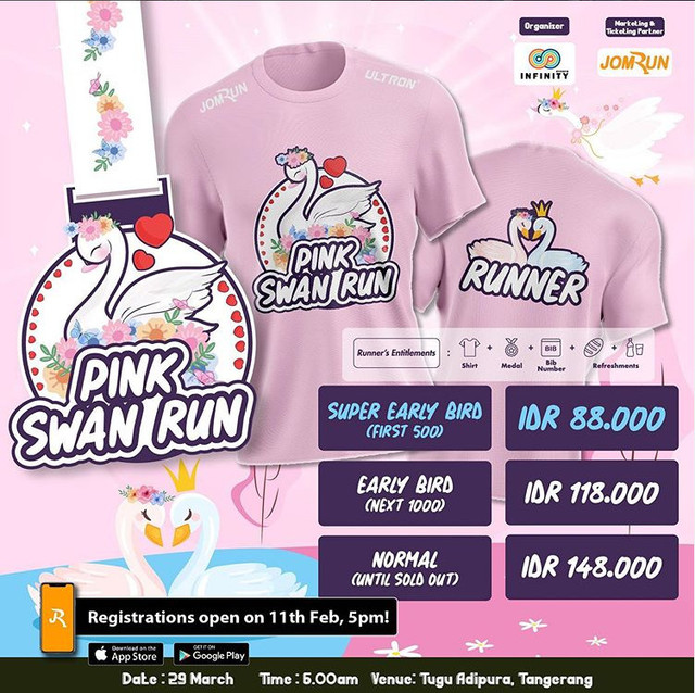 Pink Swan Run