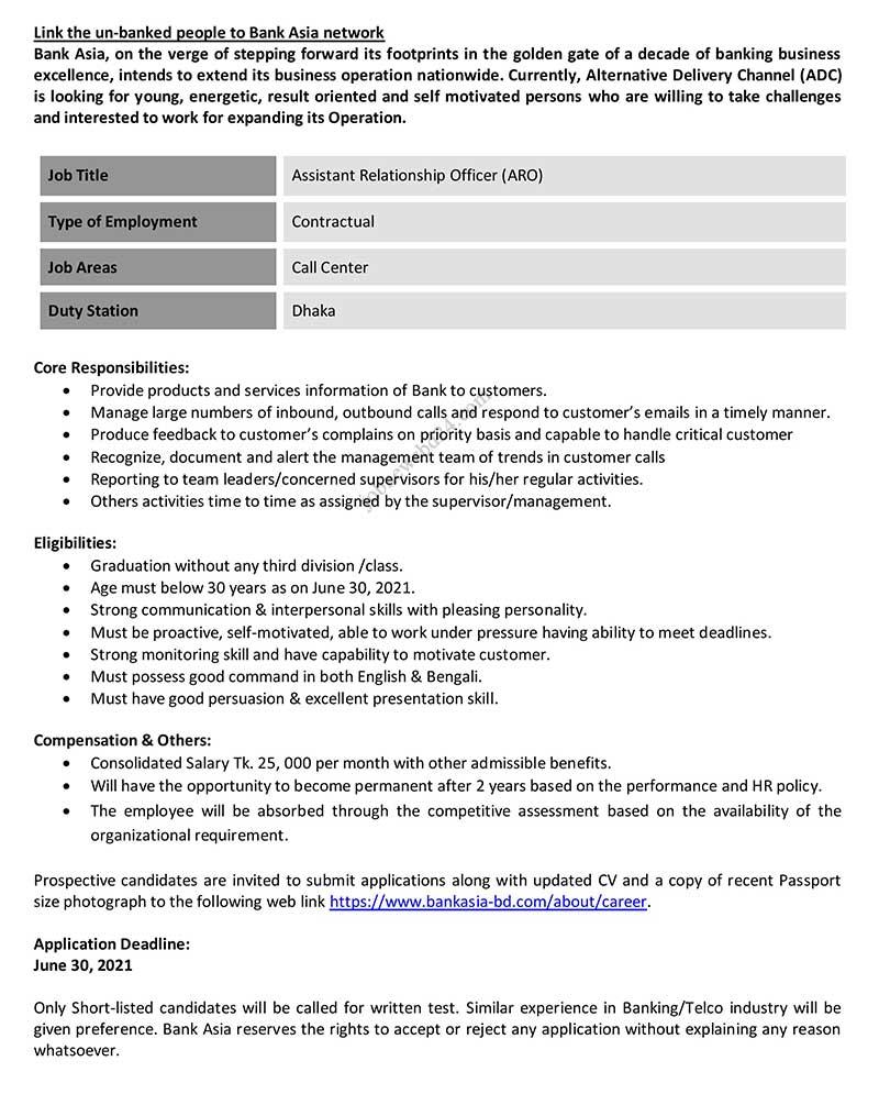 Bank-Asia-Job-Circular-2021
