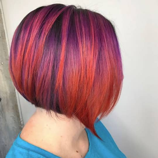 sunset -hair-color