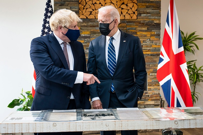 On the Eve of the G7 Summit the Biden Touts Coalition on International Issues