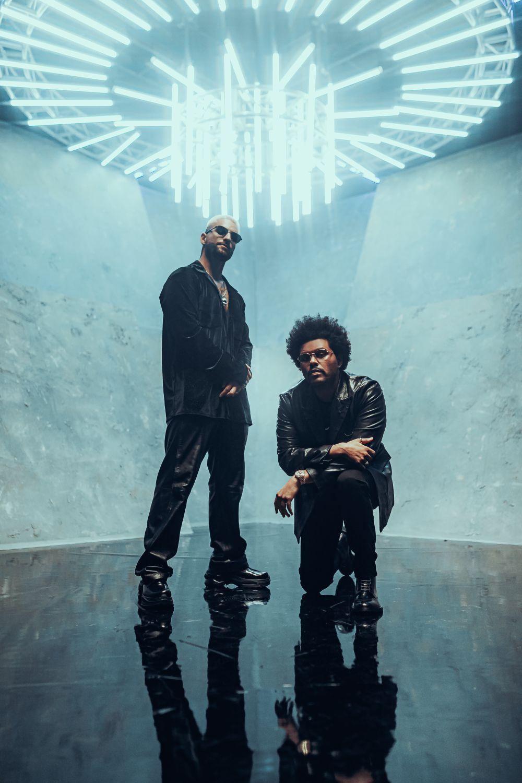 Maluma e The Weeknd in radio con Hawái Remix