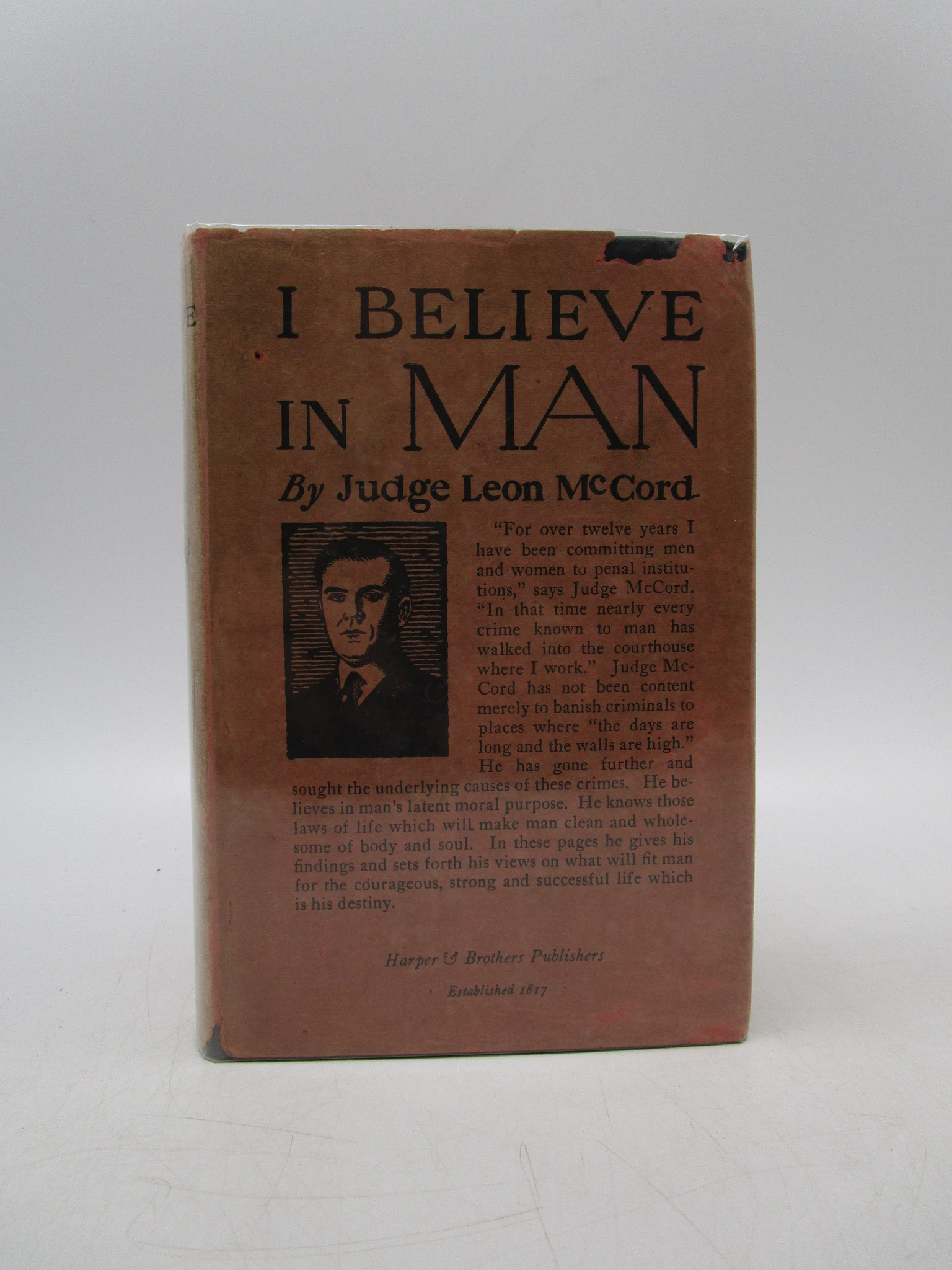 Image for I Believe in Man