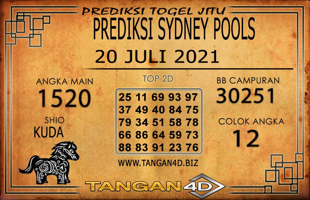 PREDIKSI TOGEL SYDNEY TANGAN4D 20 JULI 2021