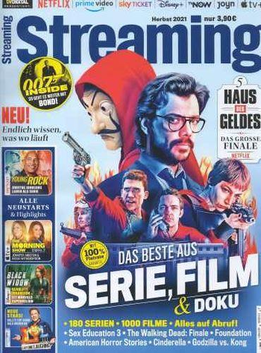 Cover: Tvdigital präsentiert Streaming Magazin No 04 Herbst 2021