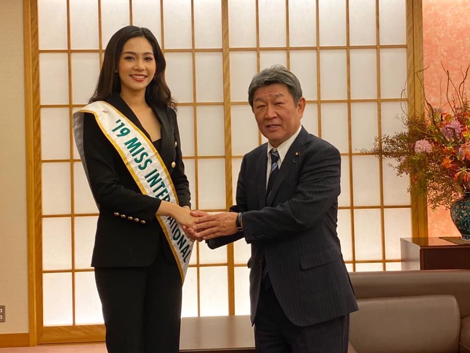 Official Thread of MISS INTERNATIONAL 2019 : Sireethorn Leearamwat of THAILAND - Page 2 5