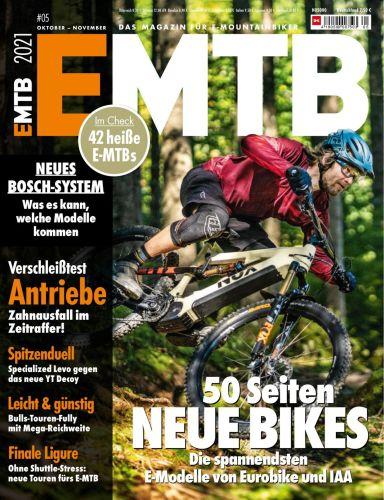 Cover: Emtb Das Magazin für E-Mountainbiker No 05 Oktober-November 2021