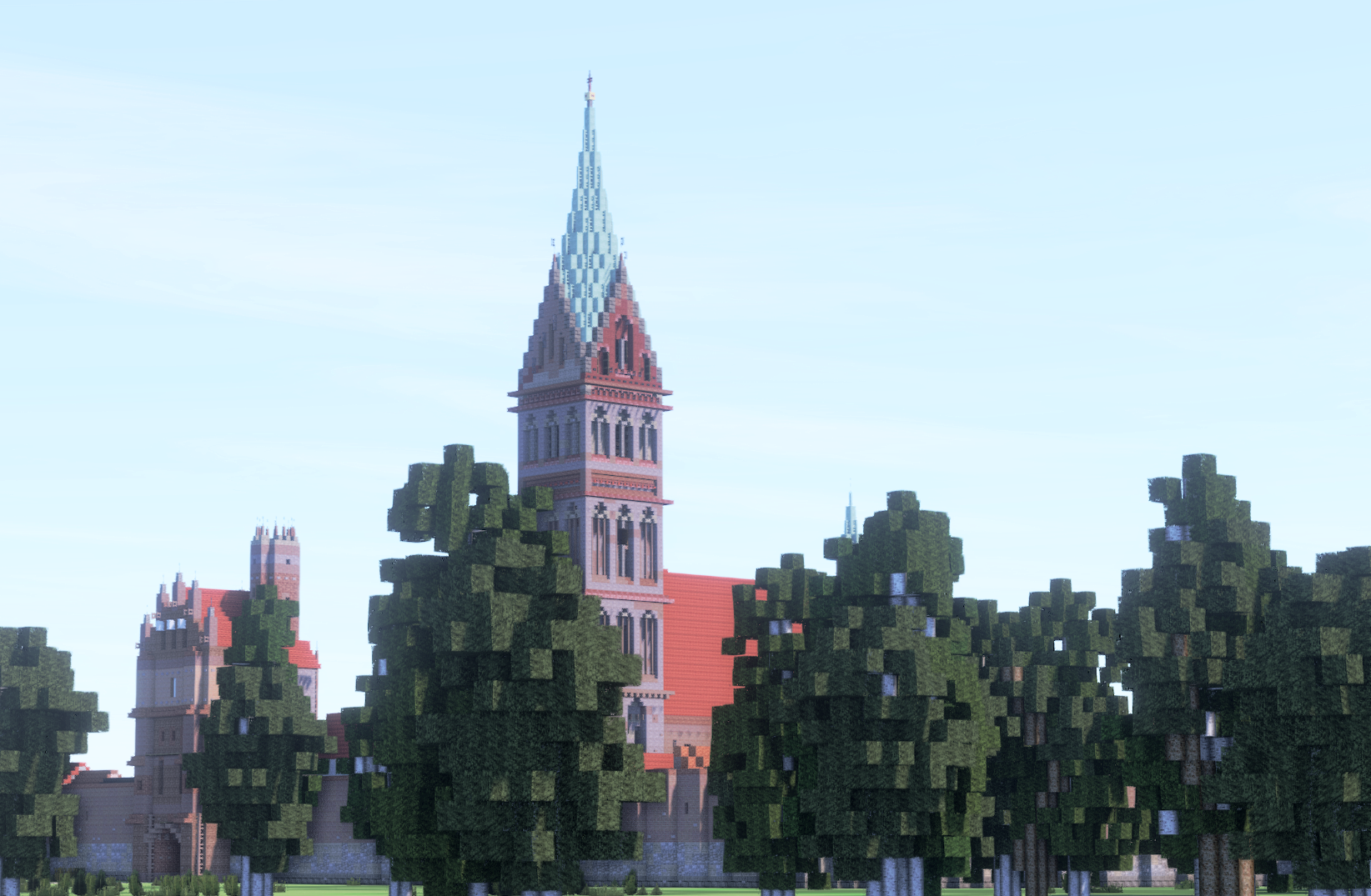 Marienkirche, Anklam, Germany Minecraft Map