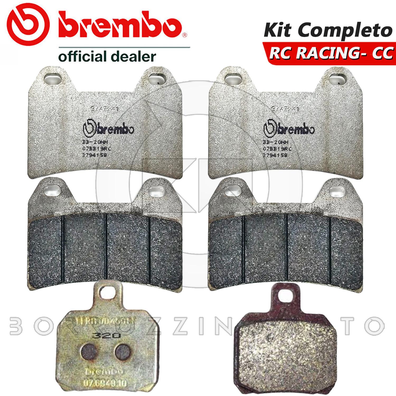Pastiglie Brembo Freno Anteriori 07BB19.07 per XTRA RAPTOR 1000 2002 2006