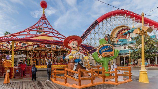 Jessie's Critter Carousel at Disneyland California
